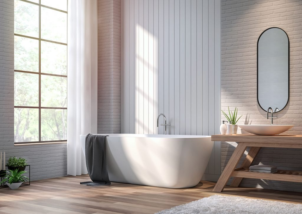 Luz natural baño