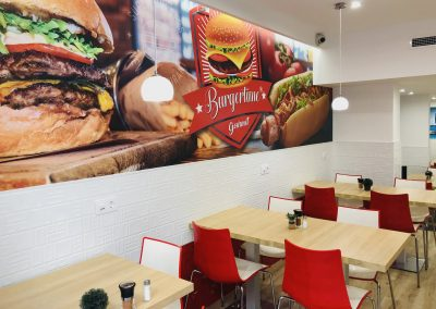 Reforma local restaurante