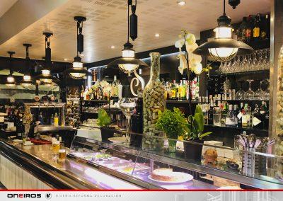 Iluminación leds para restaurante